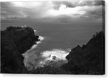 Kilauea Lighthouse I Canvas Print by Maxwell Amaro