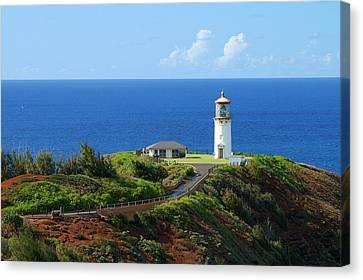 Kilauea Lighthouse Canvas Print by Shahak Nagiel