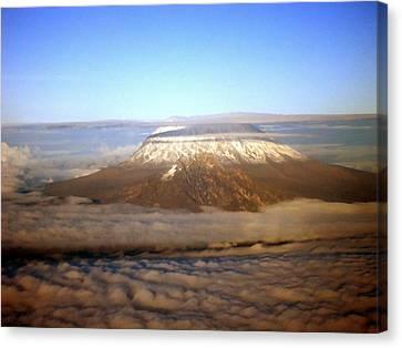 Kilimanjaro Canvas Print by Tuntufye Abel