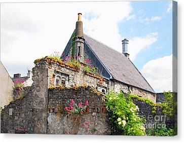 Canvas Print featuring the photograph Kilkenny House by Mary Carol Story