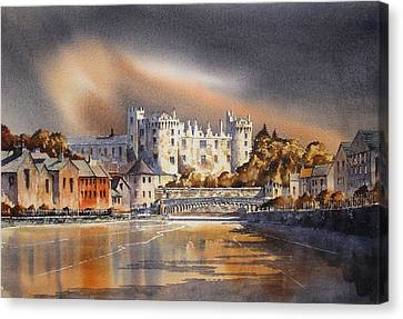 Canvas Print - Kilkenny On The Nore by Roland Byrne