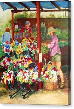 Killarney Farms Booth Canvas Print by Harriett Masterson