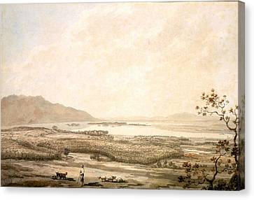 Goat Canvas Print - Killarney From The Hills Above Muckross by William Pars