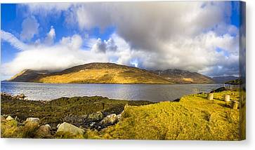 Killary Harbour On The Irish West Coast Canvas Print by Mark E Tisdale