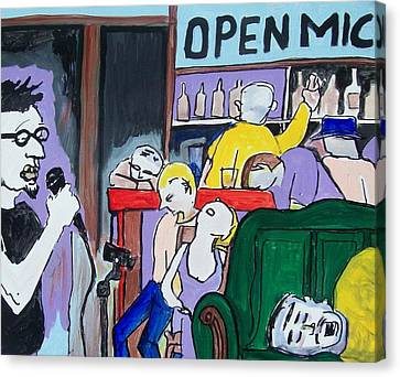 Killing - Open Mic Canvas Print