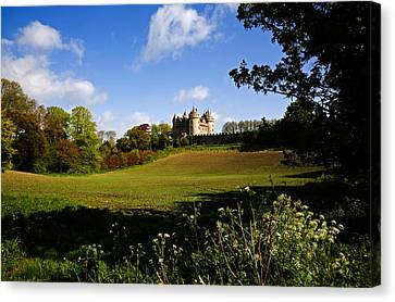 Killyleagh Castle, Co Down, Ireland Canvas Print by Panoramic Images