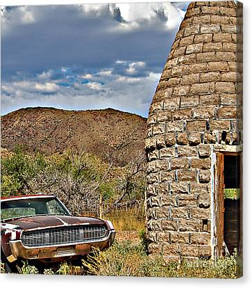 Canvas Print featuring the photograph Kiln Sale by Lee Craig