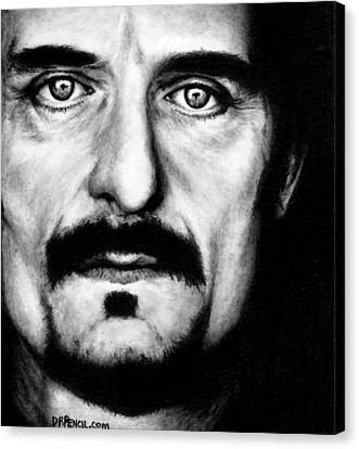 Kim Coates As Tig Trager Canvas Print by Rick Fortson