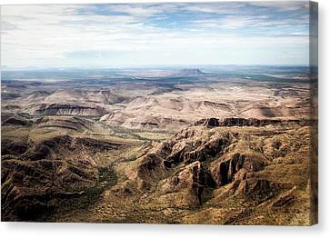 Kimberley Mountains Canvas Print by Paul Williams
