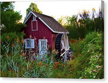 Kimberton Mill Canvas Print by Bill Cannon