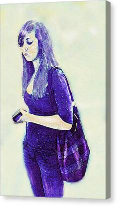 Kind Of Blue Canvas Print