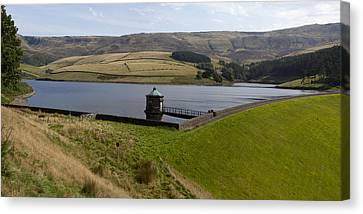 Kinder Reservoir Panorama Canvas Print