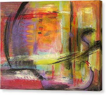 Kindness Of Strangers Abstract Canvas Print
