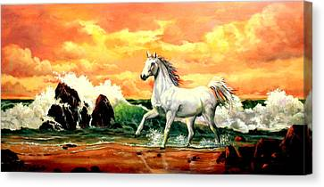 Kindred Spirit Canvas Print by W  Scott Fenton