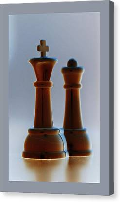 King And Queen Canvas Print by Rob Hans