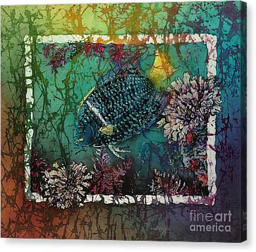 King Angelfish Canvas Print by Sue Duda