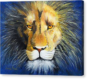 King Cat Canvas Print by Jamie Frier