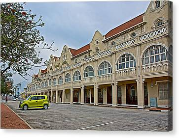 King Edward Hotel In Port Elizabeth-south Africa Canvas Print by Ruth Hager