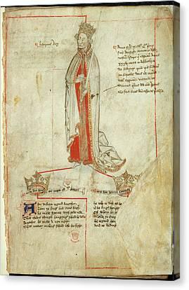King Henry I Canvas Print
