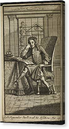 King James 11 King Of England Canvas Print by British Library