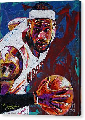 King James Canvas Print