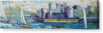 King Johns Castle Limerick Ireland Canvas Print by Paul Weerasekera