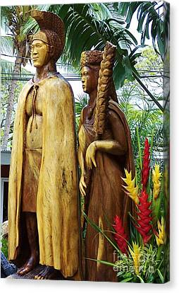 King Kamehameha Canvas Print by Brigitte Emme