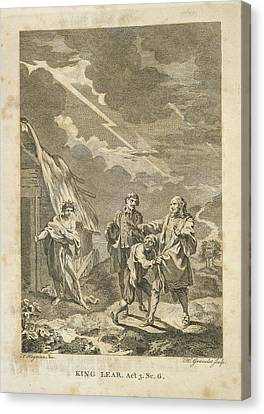 King Lear Canvas Print by British Library