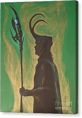 King Loki Canvas Print