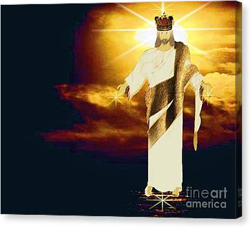 King Of All Kings Canvas Print