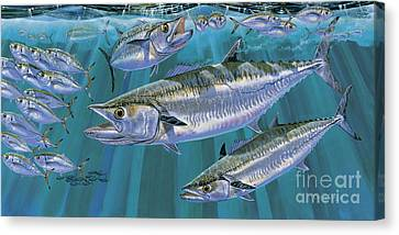 Pompano Canvas Print - King Of Kings Off0090 by Carey Chen