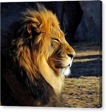 King Of The Beasts Canvas Print