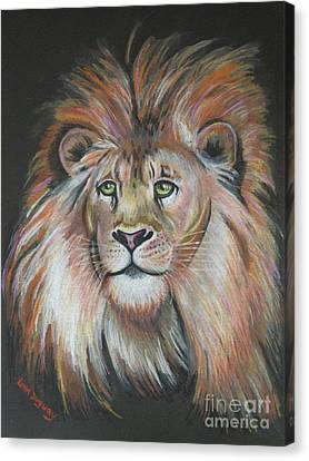 King Of The Jungle Canvas Print by Lora Duguay