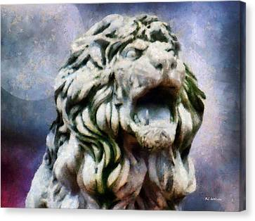 King Of The Sky Canvas Print by RC deWinter