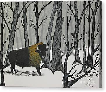 King Of The Woods Canvas Print