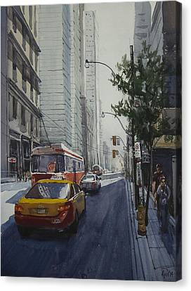 King Street 01 Canvas Print by Helal Uddin