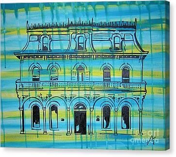 King William Steves Homestead Canvas Print by Amanda Furr