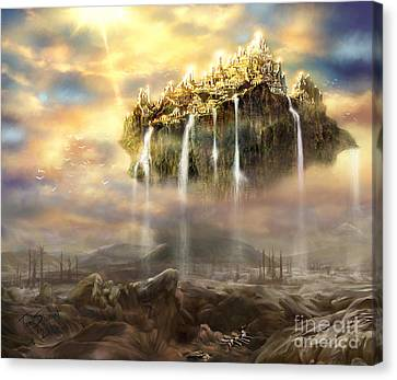 Jesus Canvas Print - Kingdom Come by Tamer and Cindy Elsharouni