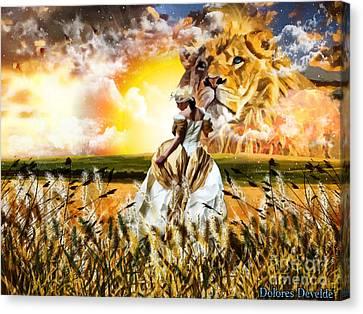 Kingdom Gold Canvas Print