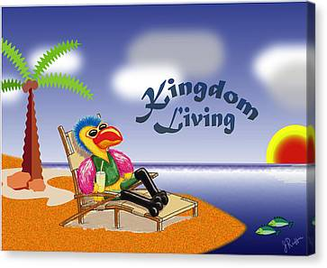 Kingdom Living Canvas Print by Jerry Ruffin