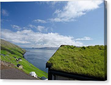 Kingdom Of Denmark, Faroe Islands Canvas Print