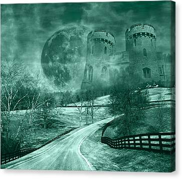 Old Country Roads Canvas Print - Kingdom Of Oz by Betsy Knapp
