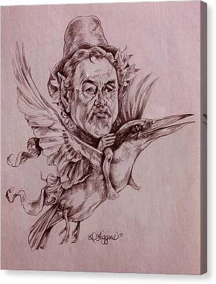 Kingfisher Flyer Canvas Print by Derrick Higgins