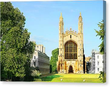 King's College Chapel Canvas Print by Eden Baed