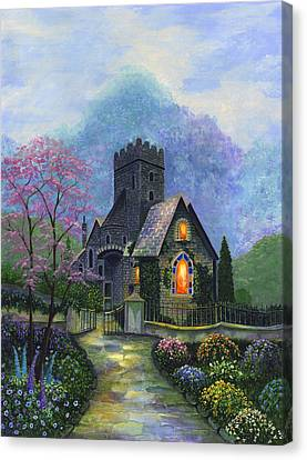 King's Garden Canvas Print by Bonnie Cook
