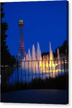 Kings Island - 121240 Canvas Print by DC Photographer