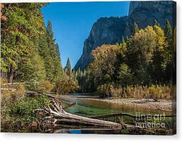 Kings River 1-7807 Canvas Print
