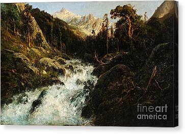 Kings River Canvas Print by Celestial Images