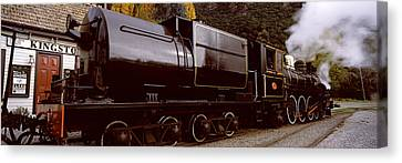 Kingston Flyer Vintage Steam Train Canvas Print by Panoramic Images