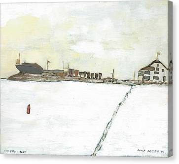 Kingston Yacht Club Canvas Print